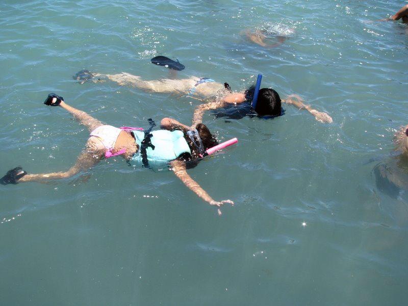 Snorkel nos parrachos de Pirangi/RN