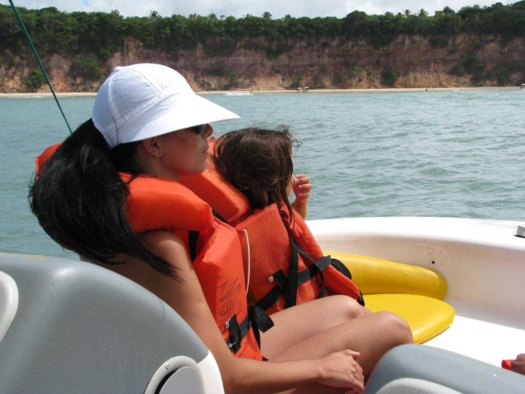 Ansiosa pelos golfinhos - Passeio de barco no RN