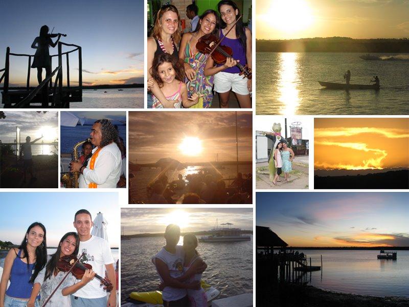 Pôr-do-sol na Praia do Jacaré - Cabedelo/PB