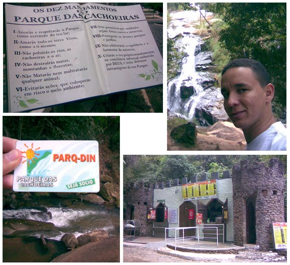 Parque Clube das Cachoeiras - Ipatinga/MG