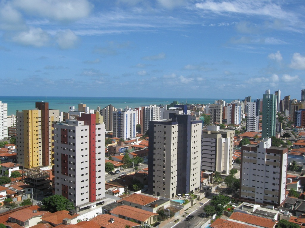 Bairro Manaíra, em Dezembro de 2010