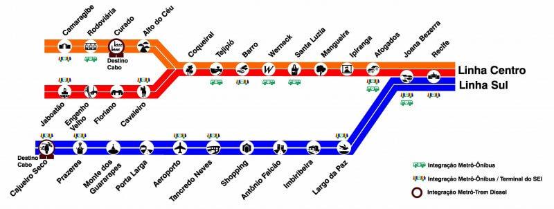 Como chegar do aeroporto à rodoviária do Recife: Metrô, ônibus, Uber ou táxi (Passo a passo!)