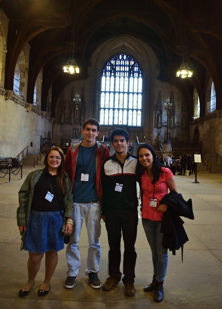 visita ao parlamento ingles