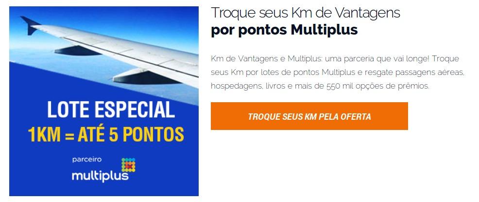 Fonte: Site Oficial do Programa Km de Vantagens