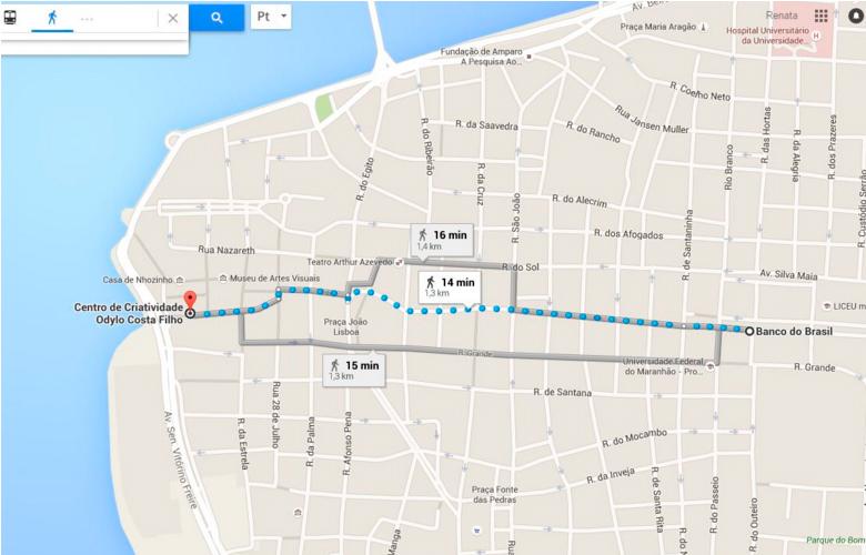 Como ir do aeroporto de São Luís ao centro histórico