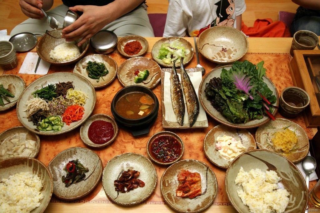 o que comer - comida coreana