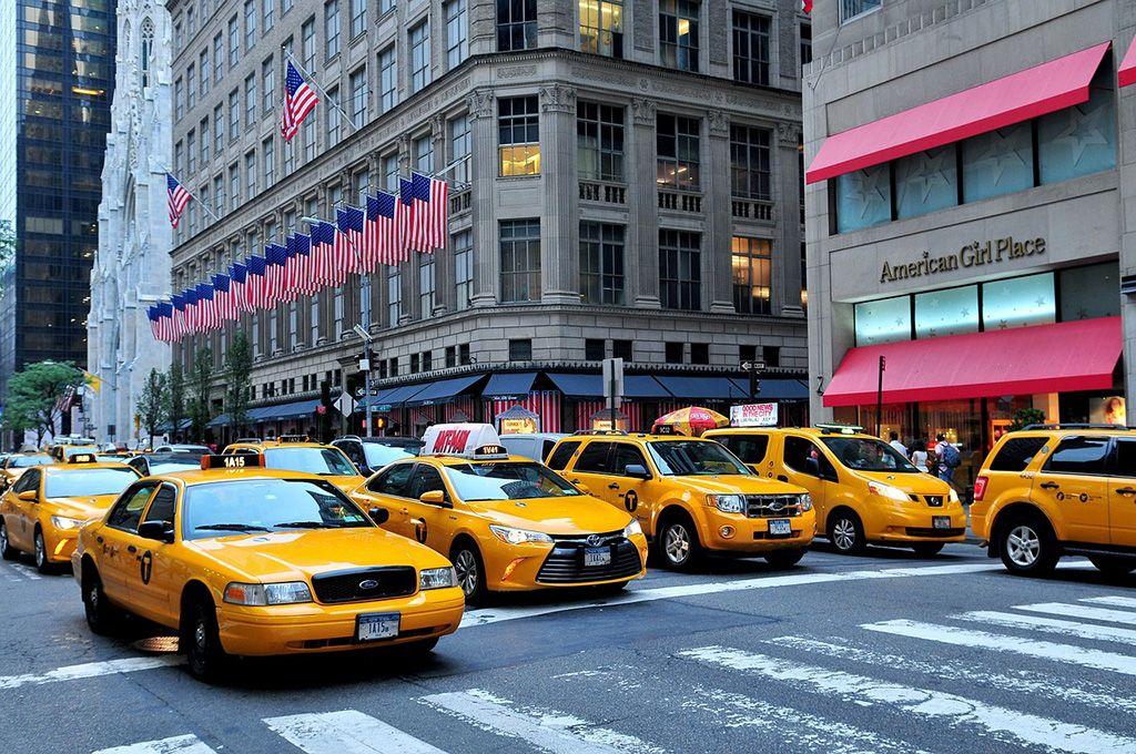 Como se locomover: Taxi em Nova York