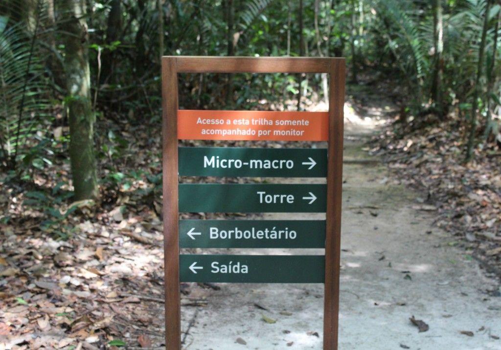 trilhas do museu da amazônia em Manaus