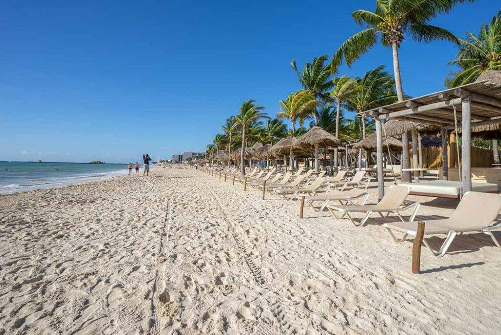 Mamitas Beach Club em Playa del Carmen