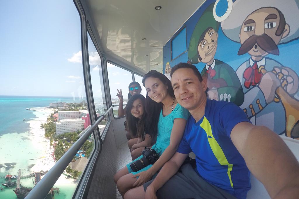 O que fazer em Cancún em 7 dias - Torre Cênica - Roteiro em Cancún