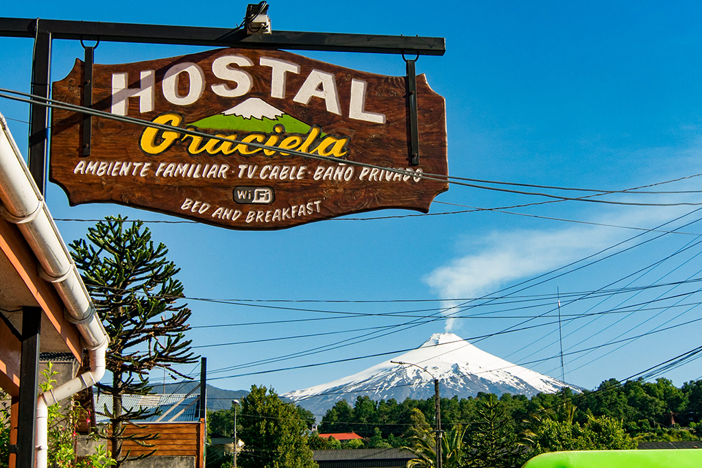Onde se hospedar em Pucón para Escalar o Vulcão Villarica? Nós ficamos no Hostal Graciela