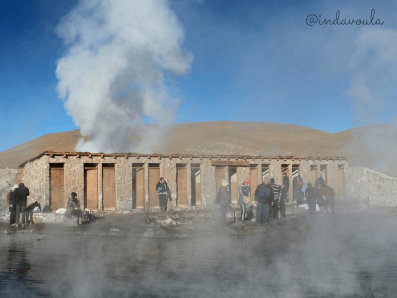 Nossos passeios no Atacama - Geysers del Tatio