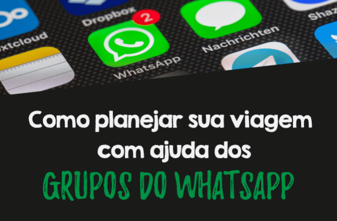 Grupos de whatsapp - Capa
