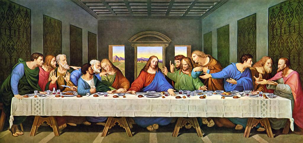 A última ceia, Leonardo Da Vinci - Milão - obras de arte mais famosas do mundo