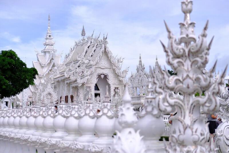 Chiang Rai - White Temple 2 - cidades para visitar na tailandia
