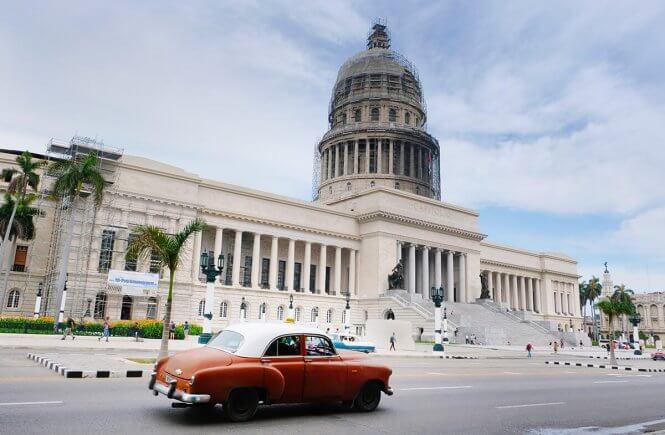 Capitólio, pontos turísticos mais visitados em Cuba