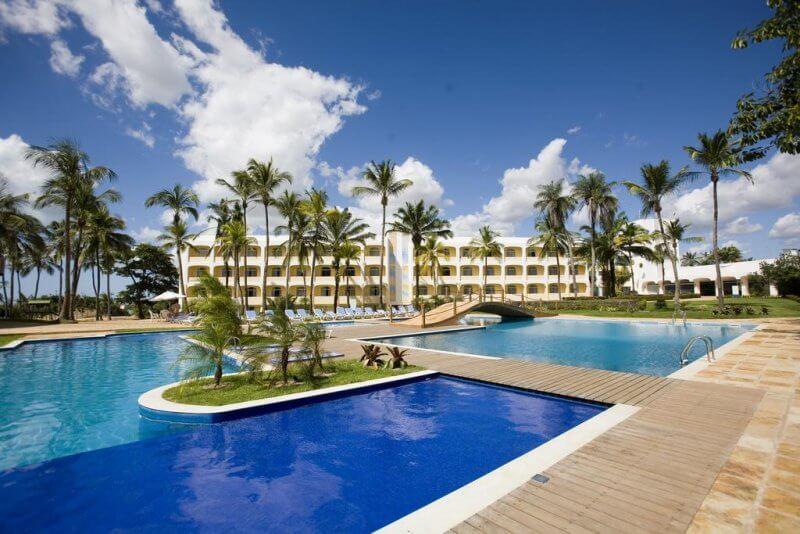 Onde se hospedar na praia em sao luis -Blue Tree Towers