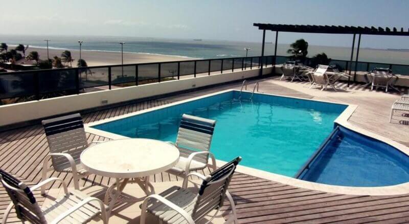 Onde se hospedar na praia em sao luis - Calhau Praia Hotel