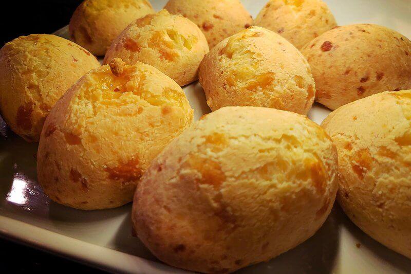 Pão de queijo da Pão de Queijaria