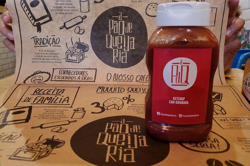 Ketchup de Goiaba da Pão de Queijaria