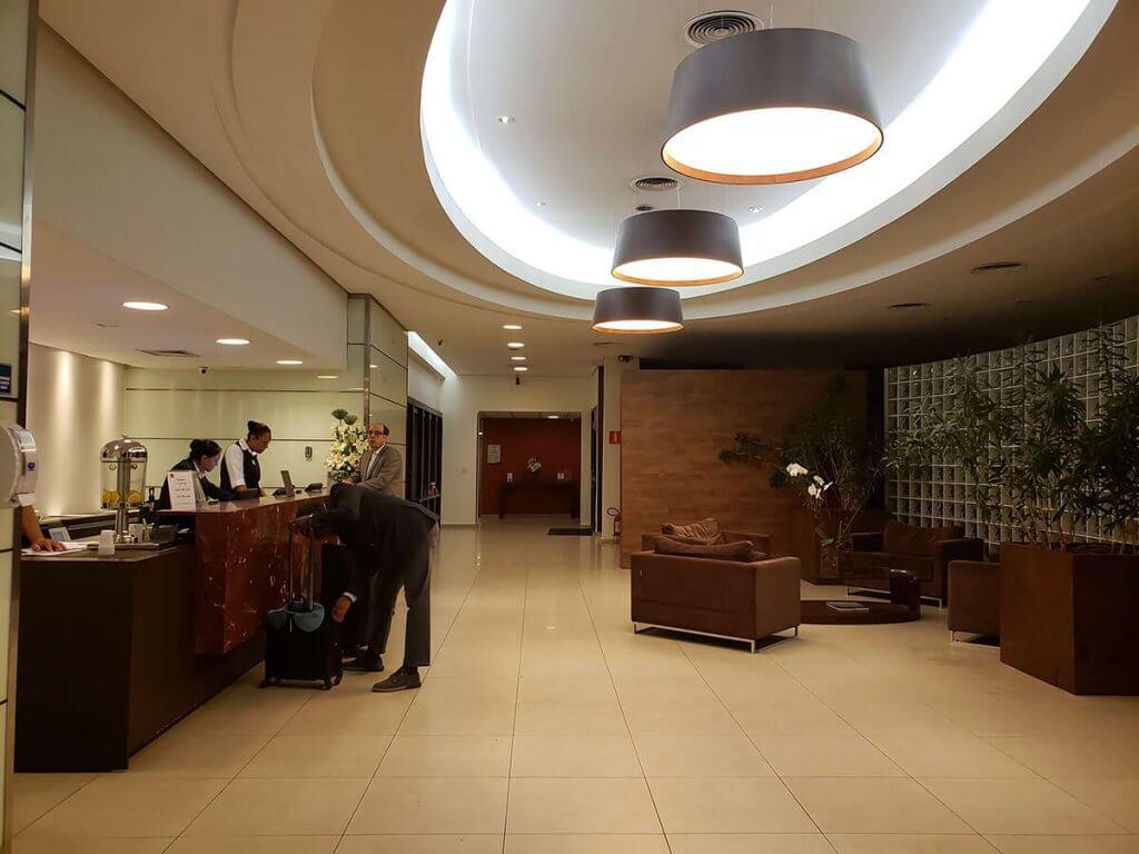 hotel perto do aeroporto de guarulhos - Hotel Panamby Guarulhos - Recepção