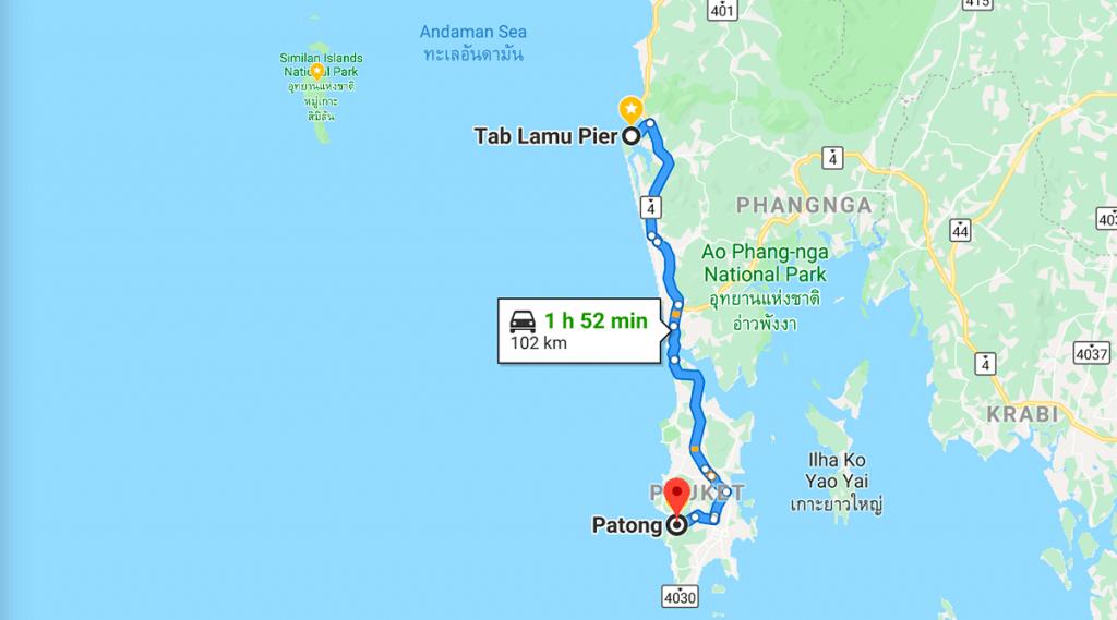 Similan Islands - O mar que sonhei da Tailândia