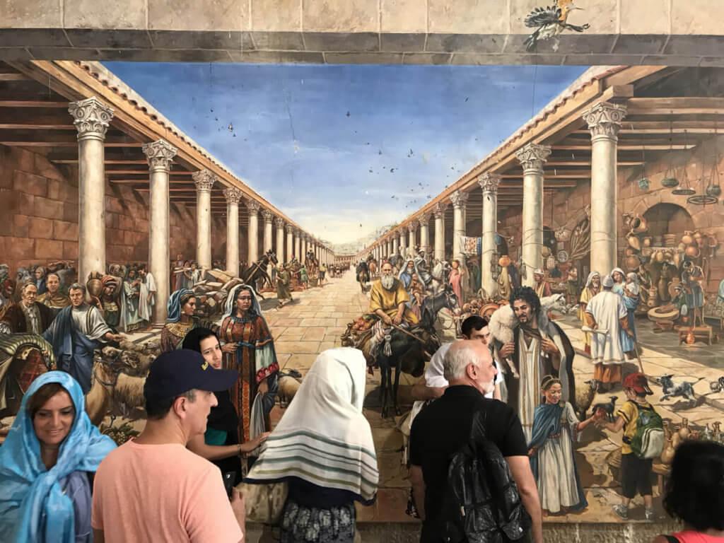 bairro judeu na cidade antiga de jerusalém