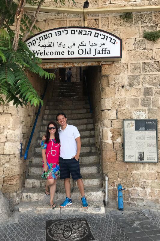 O que fazer em Jaffa. Principal portão de entrada.