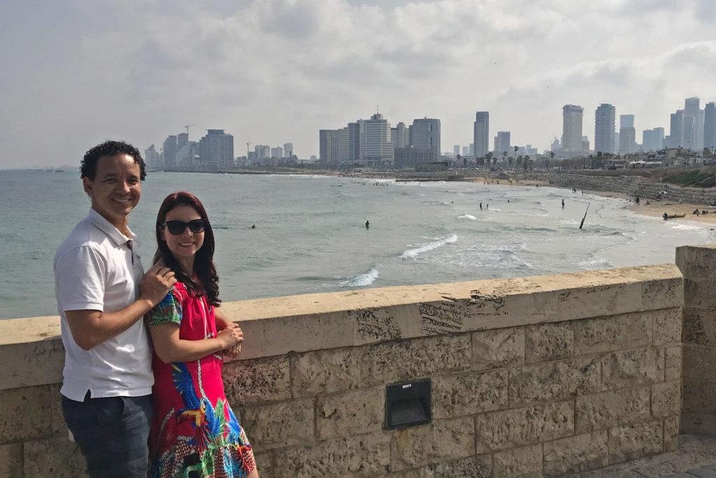 O que fazer em jaffa. Vista panorâmica de Tel Aviv.