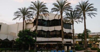 Área da piscina do Le passage - Hotel perto do aeroporto do Cairo