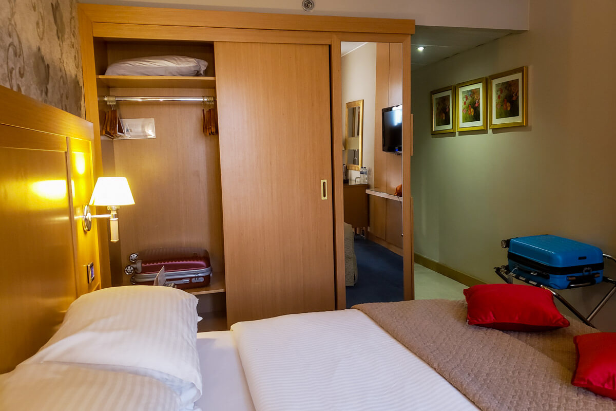 Quarto do Le passage - Hotel perto do aeroporto do Cairo