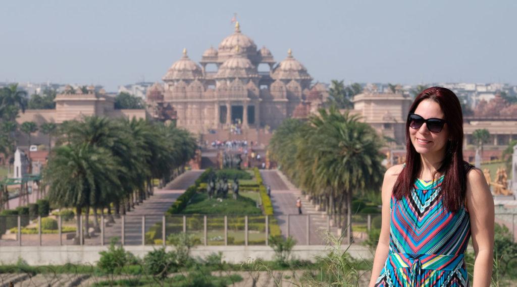Akshardam Templo Hindu em Nova Delhi